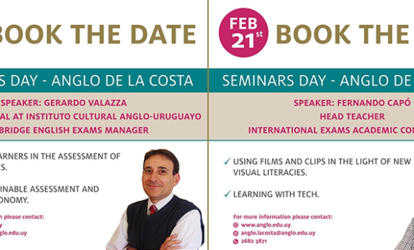Seminars Day at Anglo de la Costa